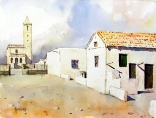 Cabo de Gata (Almería). Casas en Las Salinas