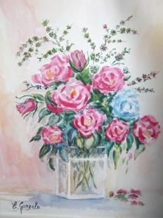 Cristal y Rosas