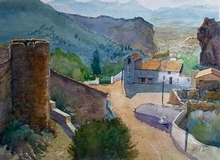 Desde el Castillo de Moclín