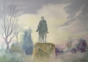 Niebla en El Retiro